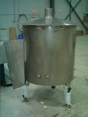Depósito Con Filtro Interior