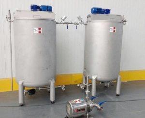 Depósitos Mezclador INOX